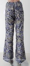 2015 nueva moda para anchas pantalones OEM