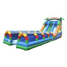 2015 hot commercial inflatable slide,inflatable slip and slide