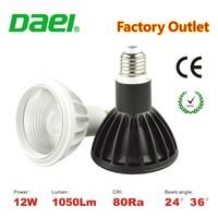 2015 new Hot design commercial CE ROHS cob chip Par 30 12W led lamps spotlight