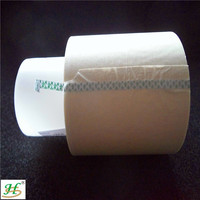 Brown 200C silicone adhesive coated no residue top selling masking paper tape