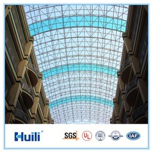 High quality double wall polycarbonate sheet, factory price,100% Sabic, no recycled