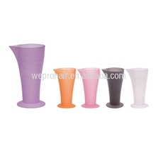 professional 120ml plastic measuring cups measuring cup for hair salon hair color measuring cup