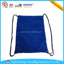 Blue Color Promotional Custom Printed Cotton Shopping Bags