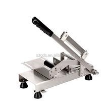 Stainless steel Manual Mutton Roll cutting Machine Meat Slicing Machine Frozen Meat Slicer 120pcs per min