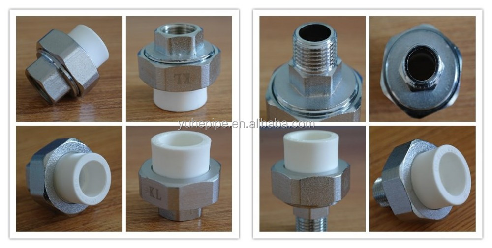 Male female ppr brass threaded adaptor union buy