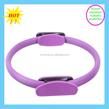 Body Sport Pilates Ring with Foam Padded Grips