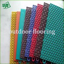 Outdoor PVC Vinyl Basketball Flooring