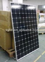 HOT!! 225W sunpower solar panel using American sunpower solar cell with TUV IEC CE RoHS certified