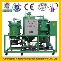 hot sale and Excellent quality used engine oil regeneration machine