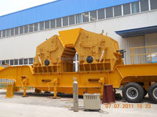 Chinese famous mobile impact crusher plant for quarry