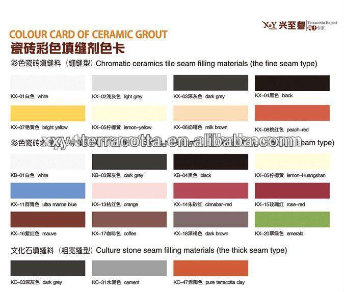 foshan farbige farbe bunte keramik fliesenfugen material klebstoff und dichtungsmaterial produkt. Black Bedroom Furniture Sets. Home Design Ideas