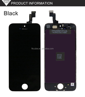 CUBE Original OEM Smartphone Spare Parts Lcd Screen Digitizer for iPhone 5G/5C/5S lcd touch screen digitizer