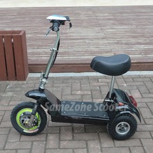 Three wheel electric disabled mobility scooter