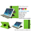 Ultra Thin Flip PU Leather 360 Degree Rotating Case Cover Stand For IPad mini 4 Case, Apple Green