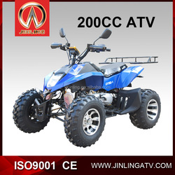 200cc air cooled system single cylinder Max speed more than 70km China jinling CE cheap atv for sale reverse gear transmission