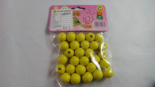 cheap diy wooden beads set wood bead for arts and crafts items