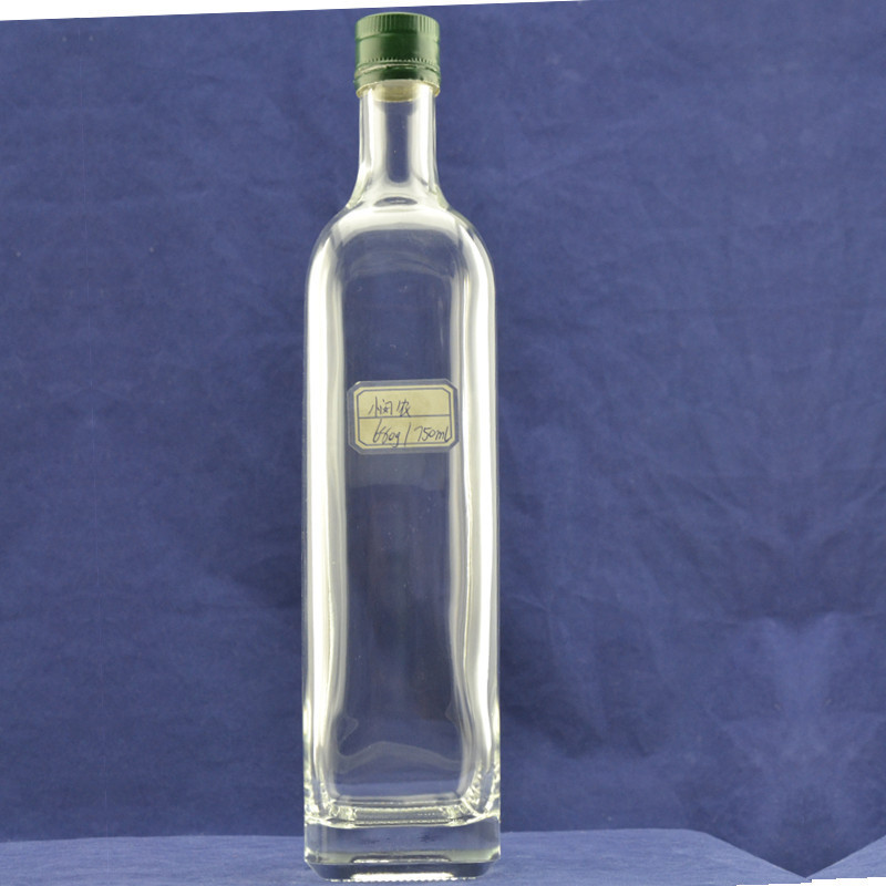 Champagne red wine 750ml glass beverage bottles wholesale for Red glass wine bottles suppliers