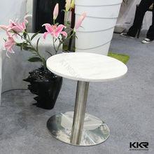Tamaño pequeño mesa de café, mesa de centro redonda de alto brillo