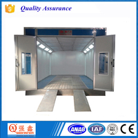 CE Approved Diesel Burner Good Quality Spray Booth For Car Used