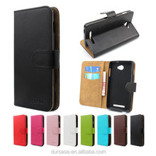 China Supplier Wallet Design Cover Pu Leather Mobile Phone Case For ZTE Warp Elite N9518