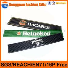 Factory directly supply cheap custom rubber bar mat