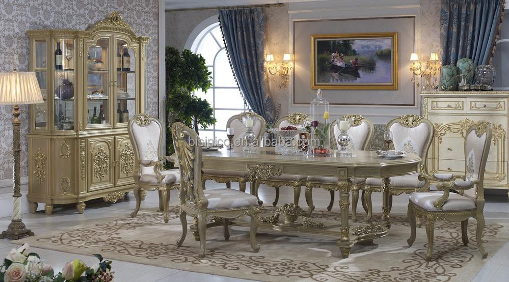 Bisini Dining Table,Italian Luxury Dining Table,Antique European ...