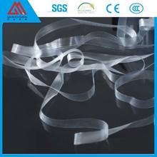 Shanghai jacquard elastic TPU polyester satin ribbon made in china