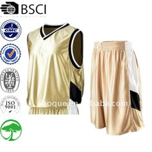 100% polyester dazzle fabric basketball uniform