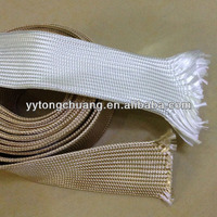 competitive price heat treated fiber glass sleeving for cable