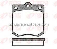 Brake pads for MAZDA D42-783