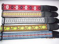 polyester jacquard guitar webbing straps