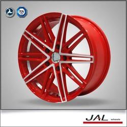 popular red 14 inch car alloy wheels