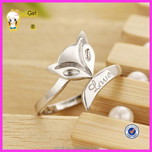 Jewelry manufacturers direct sale opening ring animal shape ring fox ring