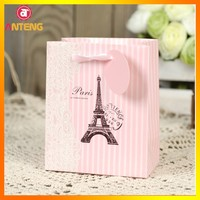 luxury paper reusable shopping bag wholesale paper shopping bags with logo