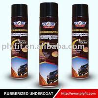 car care Rubberized Undercoat spray paint