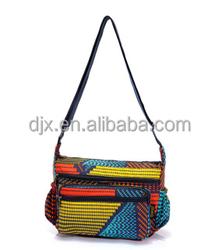 Wholesale art shoulder handbags factory Manufacturer shoulder Calico casual canvas tote bag