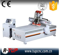 R-1325D multi heads computer controlled wood carving machine