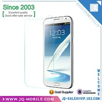 Mobile phone accessories explosion-proof tempered glass screen protector for Samsung Note2 N7100