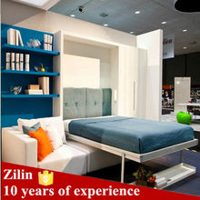 Best selling modern design furniture space saving ikea folding bed hidden wall bed