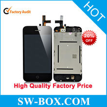 High Quality Mobile Phone Parts for iPhone 3gs LCD Screen with Digitizer Assembly