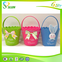 customize inflatable plush fabric giant easter basket
