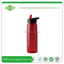 650ml Food grade plastic tritan sports bottle with straw