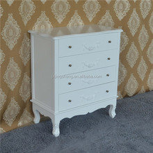 French style furniture drawers chest white living room cabinet wall units