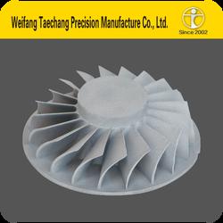 ISO9001 Stainless steel Impeller casting impeller price small water pump impeller