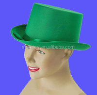 Hot sell Green felt Top Hat Show St Patricks Day hat
