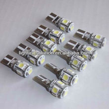 OBC Error Free CANBUS T10 5SMD Cree Car Led Light Bulbs