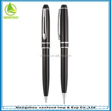 High grade promotional gift pen set ,heavy metal pen and pencil set