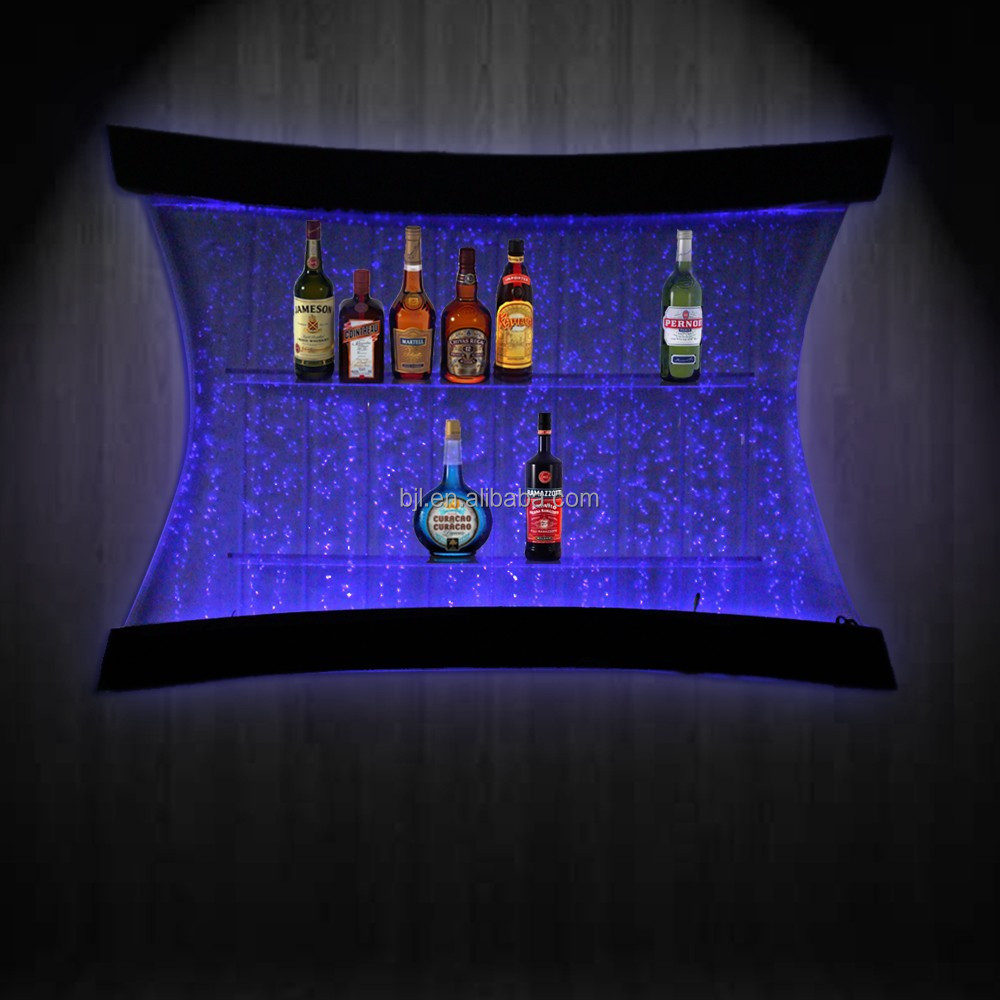 16 couleurs changement led bubble wall mounted wine bar d coration murale lot - Decoration murale led ...