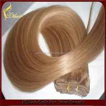 2015 Best Selling Factory Price Wholesale Hair Weaving Remy Russian Blonde Human Hair Extensions