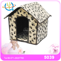 Canopy small animal pet bed